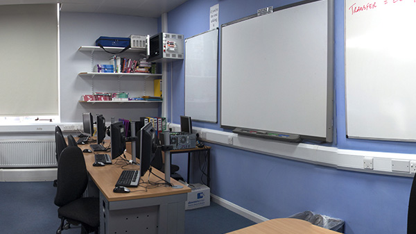 ICT Classroom 1, fully equipped