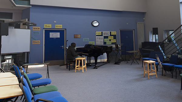 Music Room, ideal for rehearsals