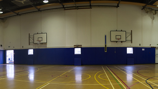Sports Hall, superb facilities ready for hire