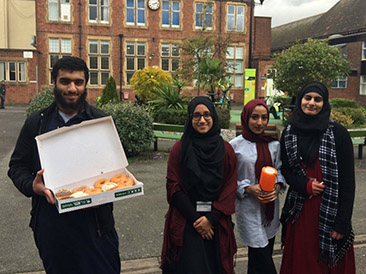 Islamic Society Raises Money for Charity