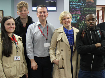Students Meet Stella Creasy MP to Explore General Election 2017