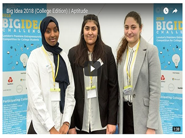 Aisha, Asiya & Everalda make it to the final of the Big Idea Challenge